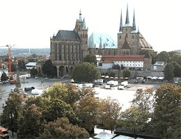 Erfurt – Domplatz Webcam Live