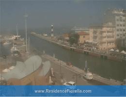 Cattolica – Blick über Gabicce Mare Webcam Live
