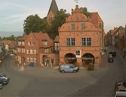 Gadebusch – Marktplatz und Rathaus Webcam Live
