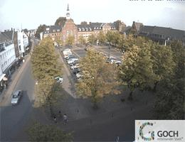 Goch – Marktplatz und Rathaus Webcam Live