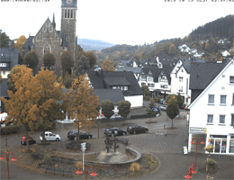 Lennestadt – Rathausplatz Webcam Live