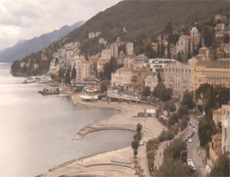 Opatija – Panorama Webcam Live