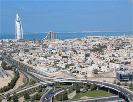 Dubai – Panoramablick Webcam Live
