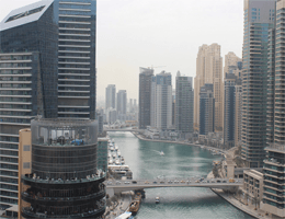 Dubai – The Address Dubai Marina Webcam Live