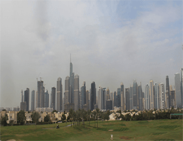 Dubai – The Address Montgomerie Dubai Webcam Live