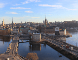 Stockholm – Panoramablick Webcam Live