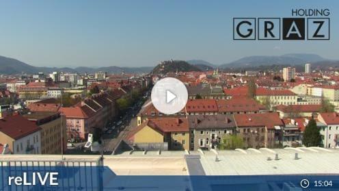 Graz: Messe Congress – Messeturm Webcam Live