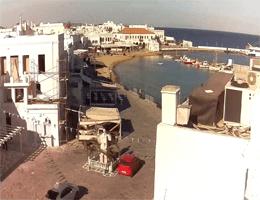Mykonos – Alter Hafen Webcam Live
