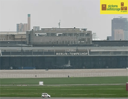 Berlin: Skyline – Flughafen Tempelhof Webcam Live