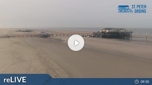 St.Peter-Ording – Badestelle Ording Webcam Live