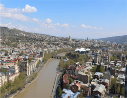Tiflis – Stadt Skyline Webcam Live