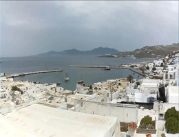 Mykonos – Hafen Webcam Live