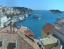 Hvar – Hafenblick Webcam Live