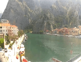 Omiš – Cetina Canyon Webcam Live