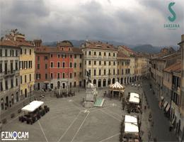 Sarzana – Piazza Matteotti Webcam Live