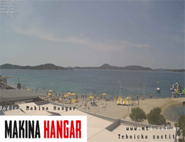 Vodice – Makina Hangar Webcam Live
