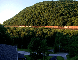 Altoona (Pennsylvania) – Horseshoe Curve Webcam Live