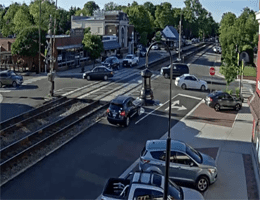 Ashland (Virginia) – Rail Crossing Webcam Live