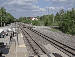 La Plata (Missouri) – Bahnhof Webcam Live