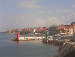 Piran – Panorama Webcam Live