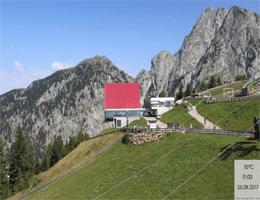 Meran 2000 – Seilbahn Bergstation Webcam Live