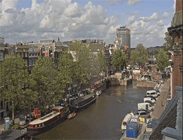 Amsterdam – Singelgracht Webcam Live