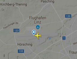 Flughafen Linz Flugverfolgung live