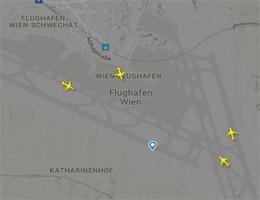 Flughafen Wien-Schwechat Flugverfolgung live
