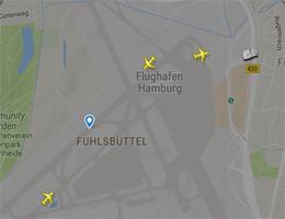Flughafen Hamburg Flugverfolgung live