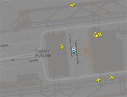 Flughafen München Flugverfolgung live