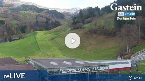 Dorfgastein – Talstation Fulseck Webcam Live