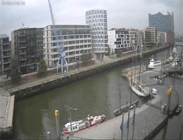 Hamburg – HafenCity Harbour Hall Webcam Live
