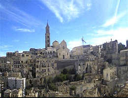 Matera – Sasso Barisano Webcam Live