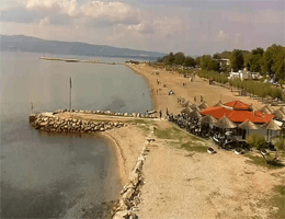Omiš Beach Webcam Live