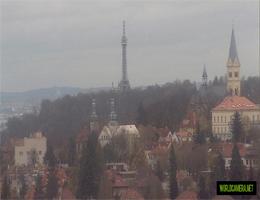 Prag – Aussichtsturm Petřín Webcam Live