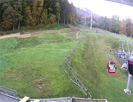 Ski Resort Maribor Pohorje – Untere Standseilbahn Webcam Live