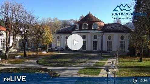 Bad Reichenhall – Königlicher Kurgarten Webcam Live