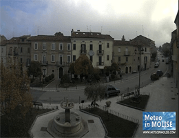 Jelsi – Piazza Umberto I Webcam Live