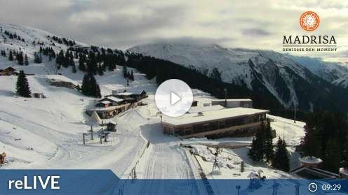 Klosters Dorf – Madrisaland Webcam Live
