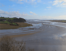 Laugharne – River Taf Estuary Webcam Live