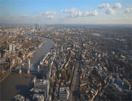 London – Blick nach Osten Webcam Live