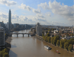 London – Vauxhall Bridge Webcam Live