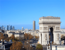Paris – Arc de Triomphe Webcam Live