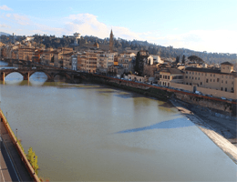 Florenz – Ponte alla Carraia Webcam Live