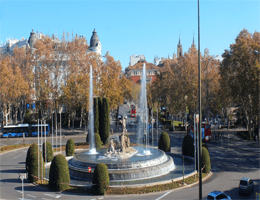 Madrid – Fuente de Neptuno Webcam Live