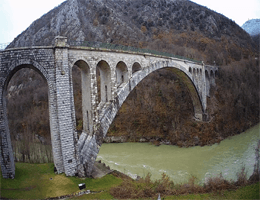 Nova Gorica – Solkan Bridge Webcam Live