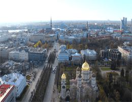 Riga – Panoramablick Webcam Live