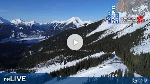 Ehrwald –  Ehrwalder Alm-FlyingCam Webcam Live