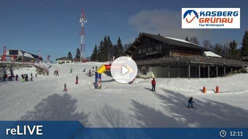 Grünau im Almtal – Kasberg Farrenau Webcam Live