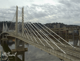 Portland – Tilikum Crossing Webcam Live